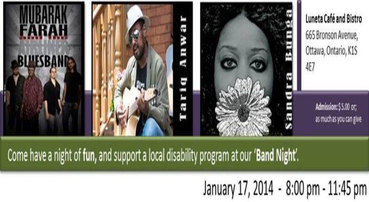 CISDEP Inc. Fundraiser Band Night